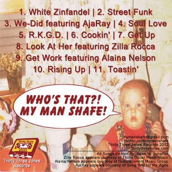 (Image: My Man Shafe - Who's That?! My Man Shafe! Album Cover)