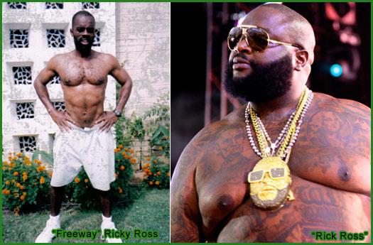 (Image: Rick Ross vs Ricky Ross)