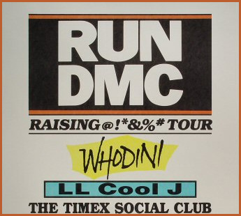 (Image - Run DMC at MSG in 1986)